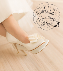 WithWhite Wedding Shoes